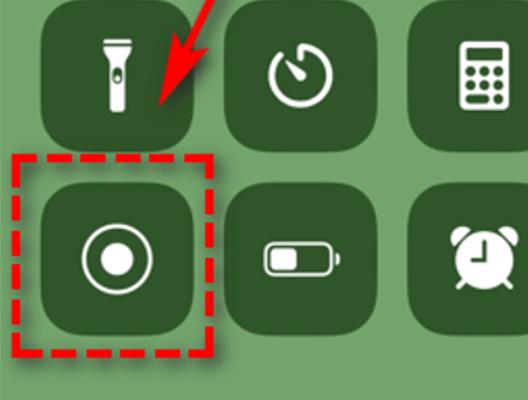 Скрин кнопки записи