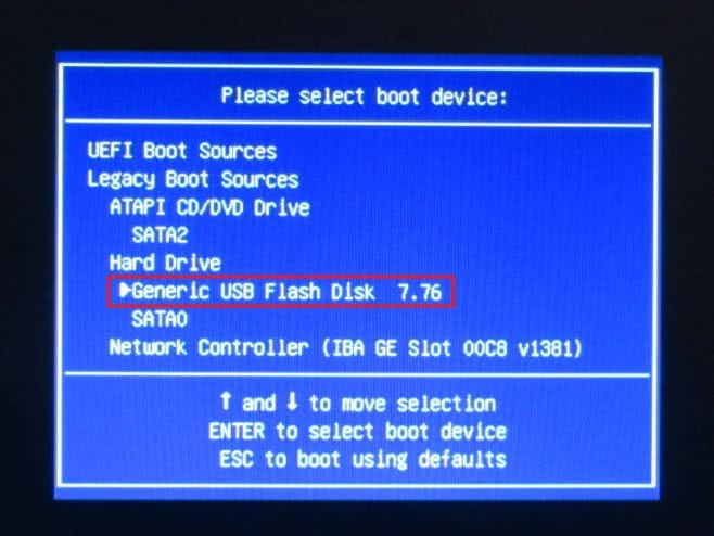 На ноутбуке HP внутренние настройки системы